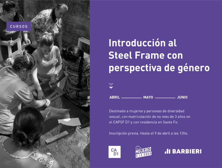 Introducción al Steel Frame con perspectiva de género