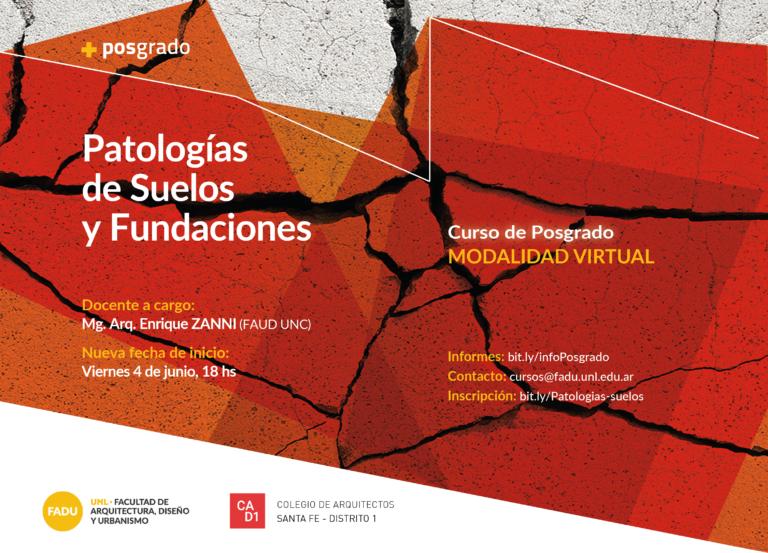 Curso de Posgrado: Patologías de Suelos y Fundaciones