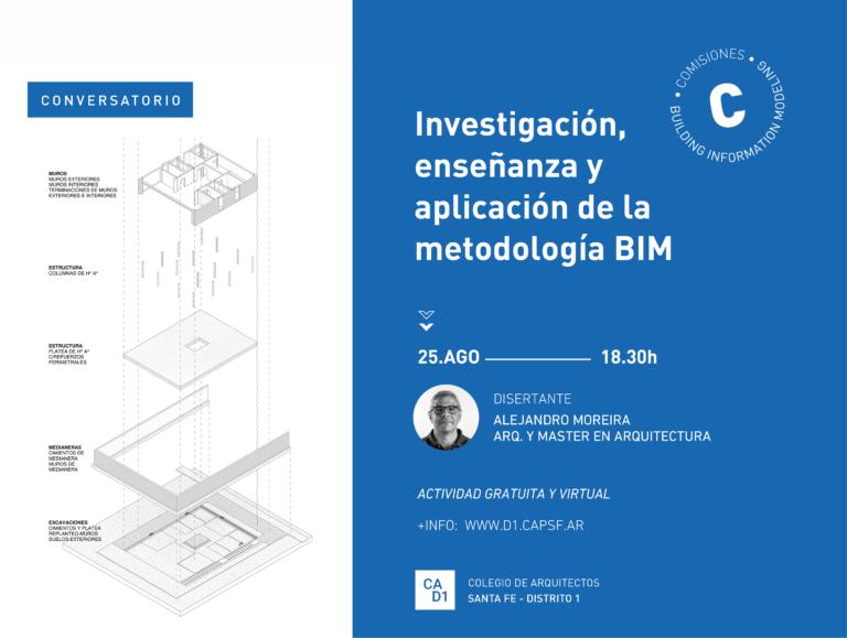 Ciclo de entrevistas BIM: Investigación, enseñanza y aplicación de la metodología BIM