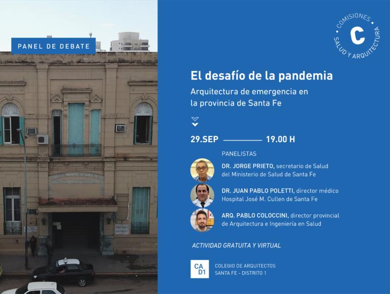 Panel debate: El desafío de la pandemia